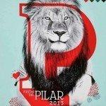 Cartel de las Fiestas del Pilar 2013