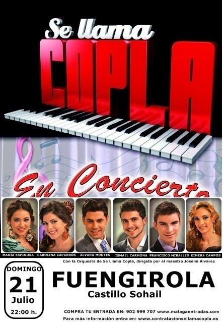 Concierto de se llama Copla en Fuengirola