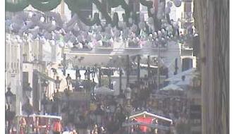 Webcam Feria de Málaga Calle Larios