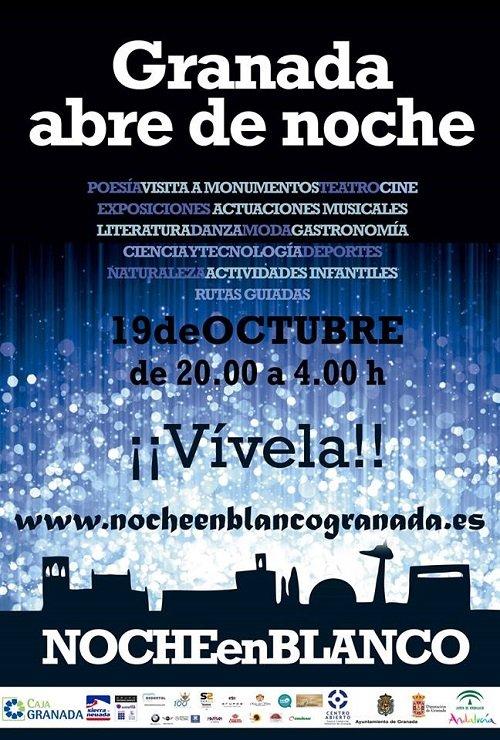 Noche en Blanco Granada 2013