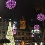 Encendido del alumbrado de Navidad de Málaga 2013