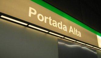 Estación de Portada Alta del Metro de Málaga