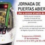 Puertas abiertas en el Metro de Málaga