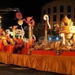 Cabalgata de Reyes Magos en Almería 2014