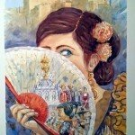 Cartel del la Feria del Corpus de Granada 2015