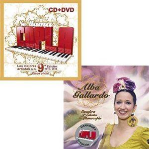 el disco de Se Llama Copla 9 Edición + el disco de la Ganadora Alba Gallardo juntos a un precio especial