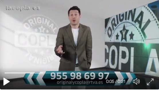 Original y Copla: Jaime Cantizano anunciando el nuevo programa de Canal Sur