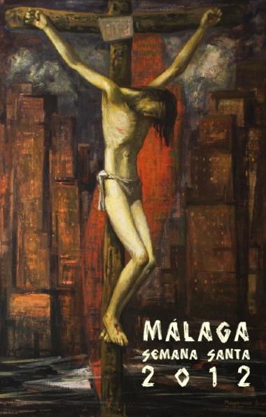 Cartel de la Semana Santa de Malaga 2012