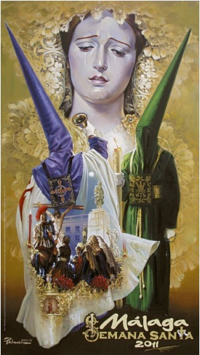 Cartel de la Semana Santa de Málaga 2011